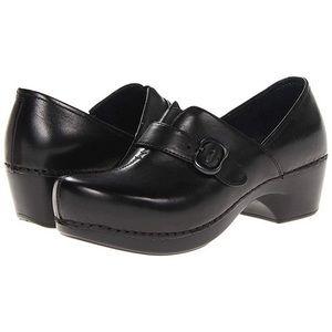 Dansko Tamara black clogs nursing shoes comfort 40